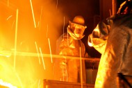steel casting<br />Client: Otto Junker
