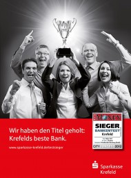 Pokal<br />Kunde: Sparkasse Krefeld Agentur: Bruno Daum Design & Communication